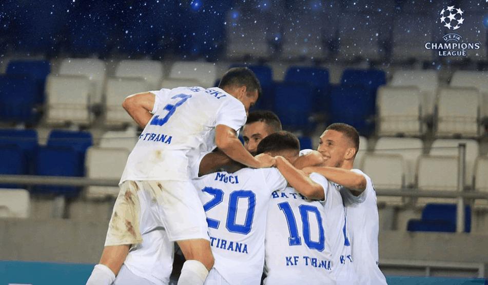 LM : Tirana – Crvena  Zvezda – zapowiedź