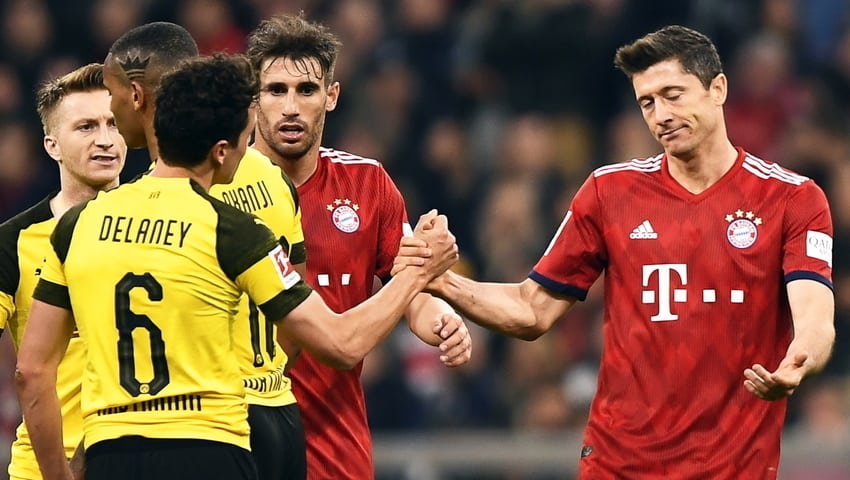 Bayern Monachium – Borussia Dortmund – zapowiedź