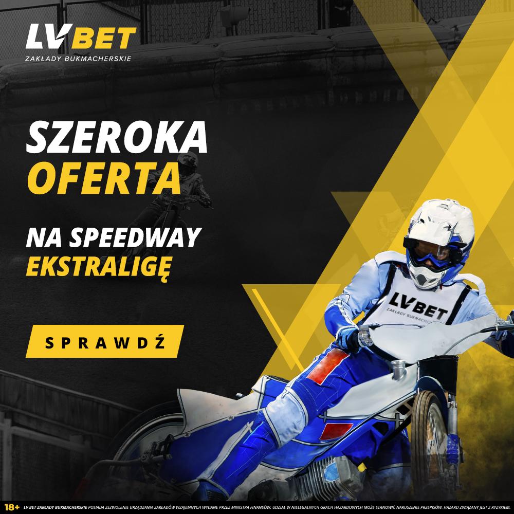 Zaczynamy sezon żużlowy – graj  Speedway Ekstraligę w LV Bet