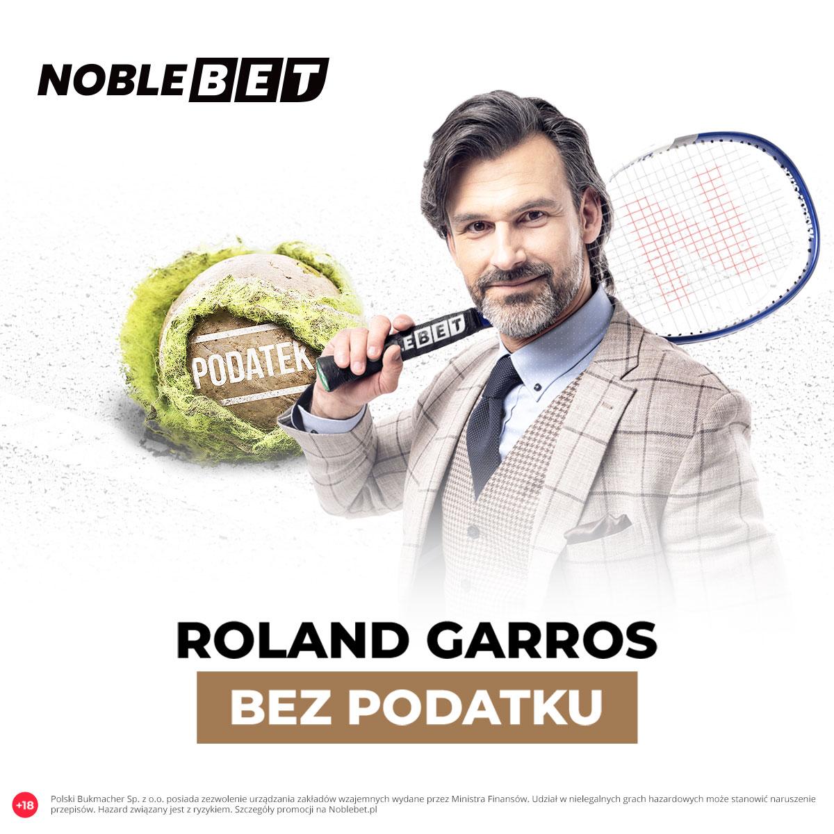 Roland Garros – graj bez podatku w Noblebet