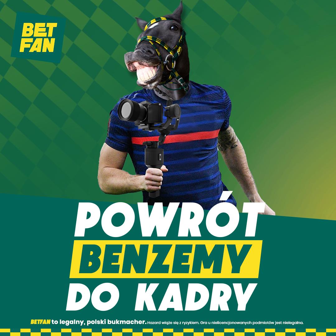 BETFAN   Benzema królem strzelców EURO 2020? Zagraj po kursie 25.00!