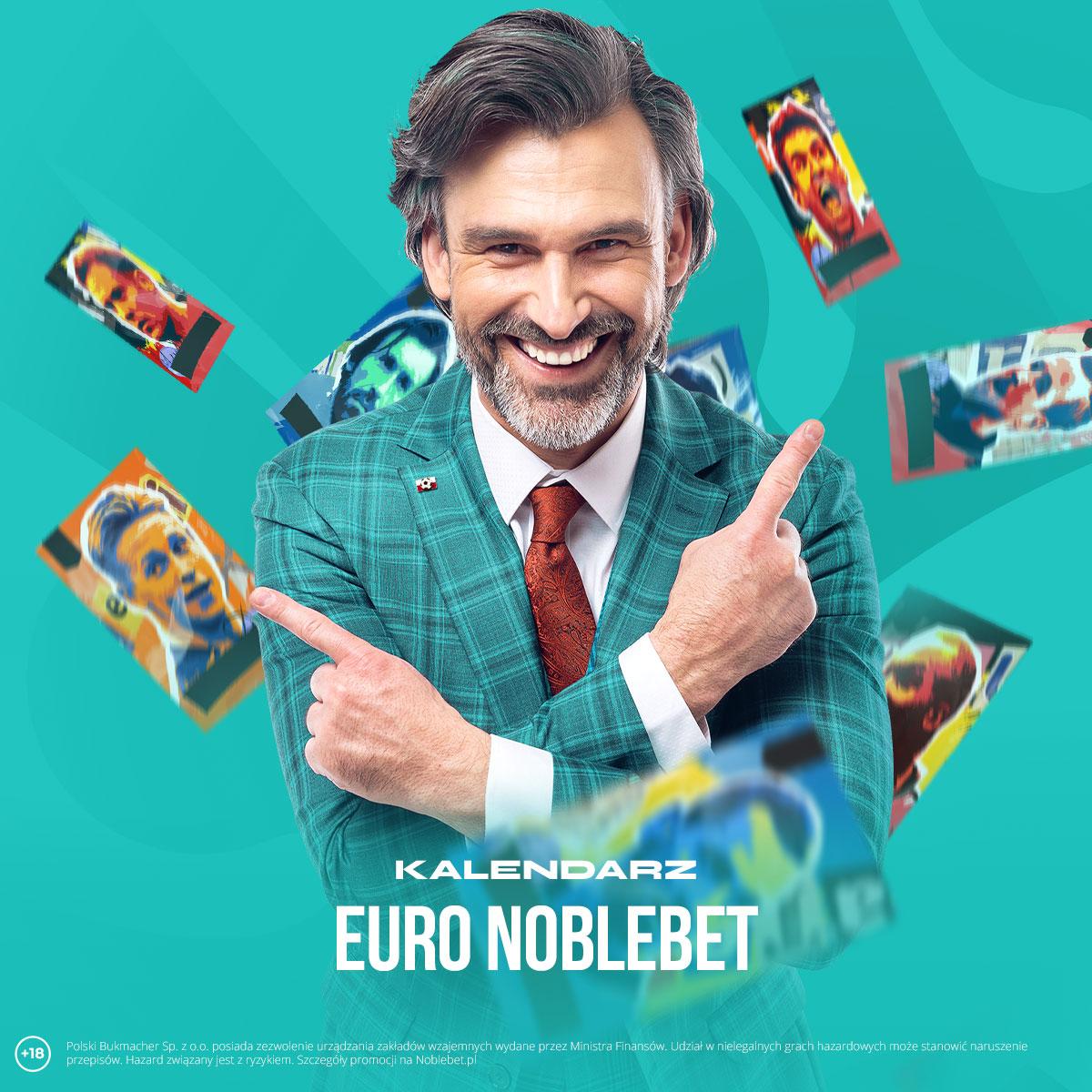 Kalendarz EURO Noblebet – korzystaj z niesamowitych promocji w trakcie EURO