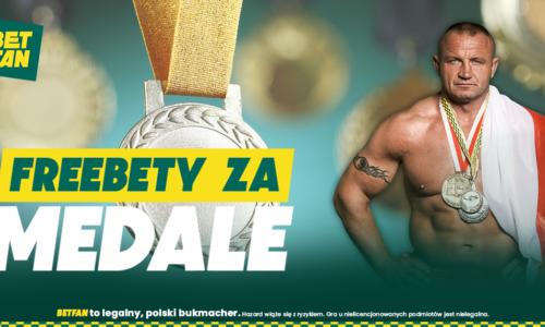 BETFAN na IO | 5 zł za każdy rekord świata, freebety za medale Polaków, Kosmiczny Mecz oraz POLSKA GUUUROM!