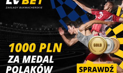 LV Bet – 1000 PLN za medal Polaków