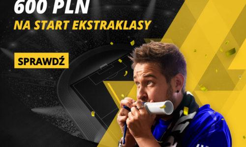 600 PLN na start Ekstraklasy w LV Bet