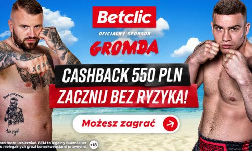 Betclic oficjalnym sponsorem gal GROMDA!