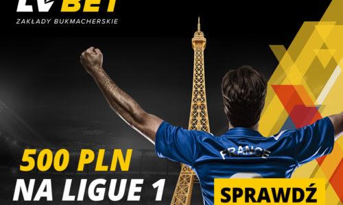 LV Bet – 500 PLN na start Ligue 1