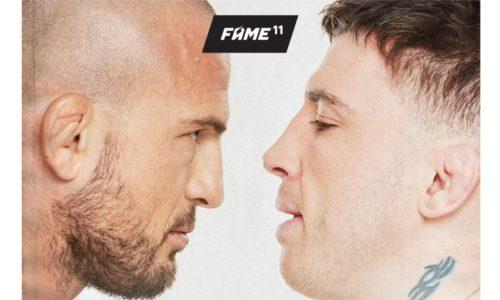 Borys Mańkowski kontra Norman Parke na FAME MMA 11
