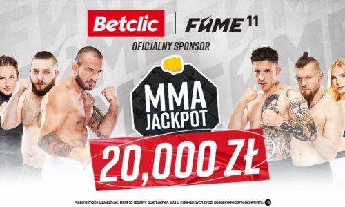 MMA Jackpot: 20.000 zł do zgarnięcia w Betclic!