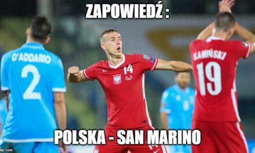 Zapowiedź : Polska – San Marino