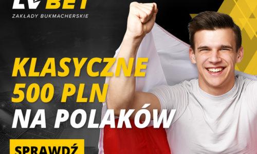 Bonus Reload w LV Bet – Klasyczne 500 PLN na Polaków z San Marino i Albanią